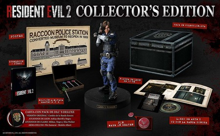 Aquí tienes el unboxing de la Resident Evil 2 Collector's Edition al detalle