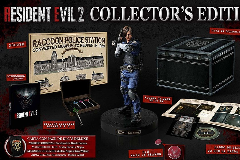 Aqui Tienes El Unboxing De La Resident Evil 2 Collector S Edition
