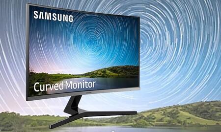 Para estrenar monitor curvo, PcComponentes te deja el Samsung LC27R500FHUXEN de 27 pulgadas por 159,99 euros
