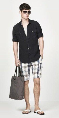Zara propone nuevos looks para el hombre de cara al Verano 2010 VIII