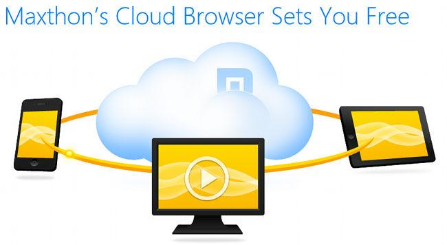 Maxthon lanza la versión 4.0 y se convierte en Maxthon Cloud Browser