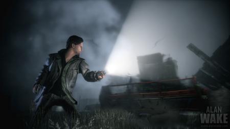 La batalla más surrealista de la historia del videojuego en vídeo: 'Alan Wake' contra una cosechadora de trigo