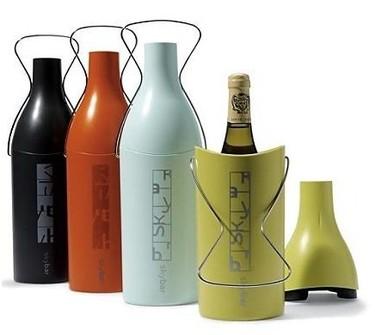 Skybar Wine Traveler, un termo para mantener el vino frío