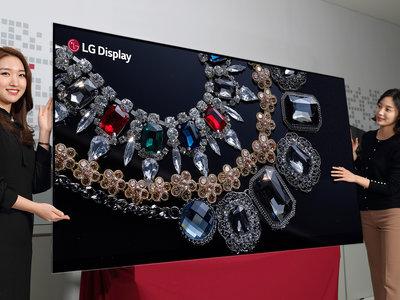 "El 4K es muy 2017, dile hola al 2018 con este TV OLED 8K de 88"" de LG"