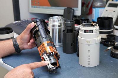 Una nueva patente de Canon anticipa un objetivo EF 100-400 mm f/4.5-5.6 con elementos DO