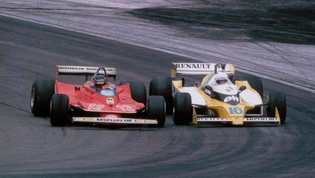 Villeneuve Arnoux Francia F1 1979