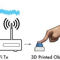 Crean objetos impresos en 3D, capaces de enviar información por WiFi sin usar electricidad