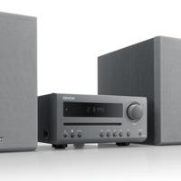 Denon renueva su gama de minicadenas musicales con la D-T1 que llega con lector de CD y Bluetooth