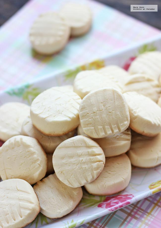 Galletas de leche condensada y maizena. Receta sin gluten