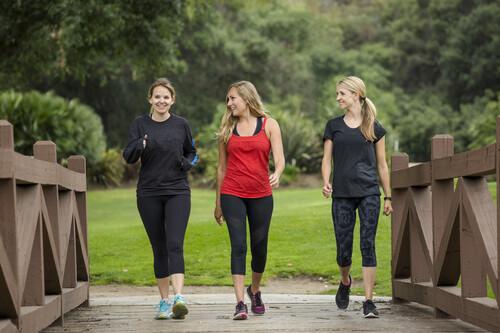 Siete claves para perder peso caminando