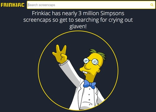Encuentra la escena y la cita perfecta de Los Simpsons en este increíble buscador