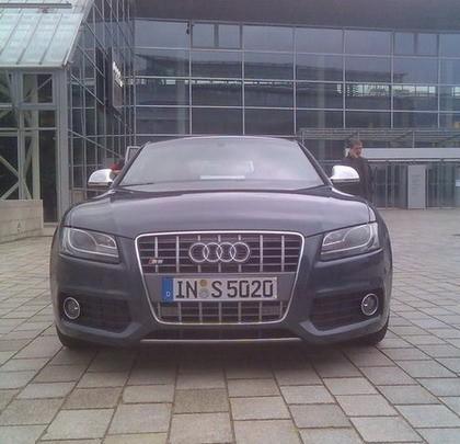 """Audi S5 """"en directo"""""""