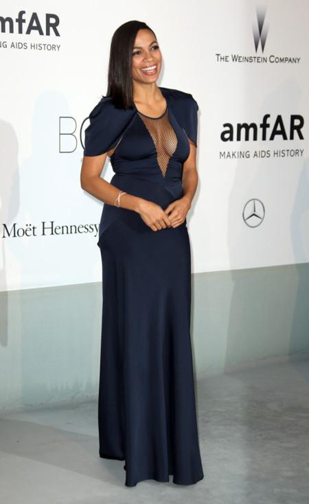 Rosario Dawson amfar Cannes 2014