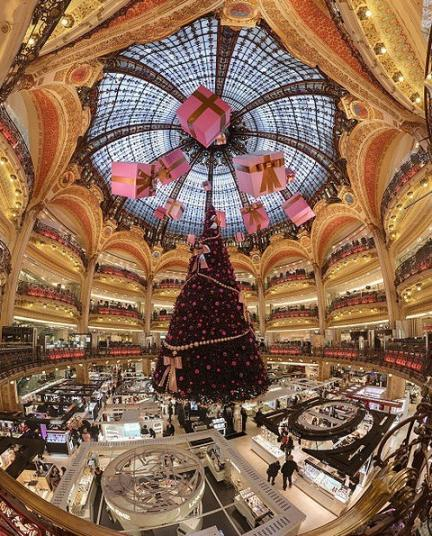 Galeries Lafayette Navidad