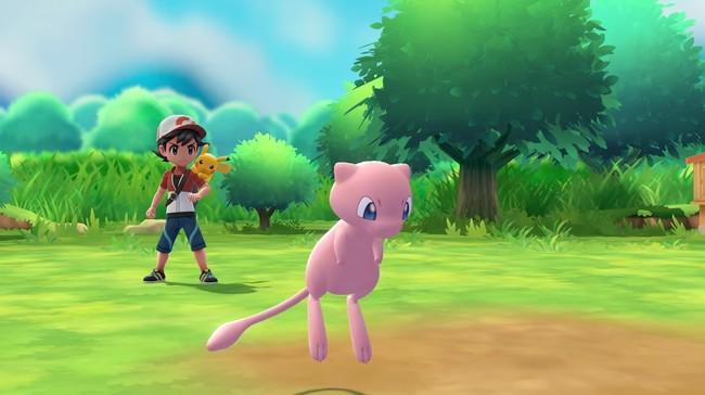 Pokemon Let S Go Mew