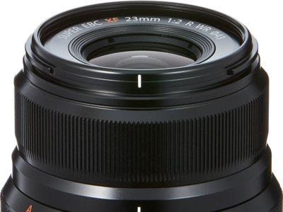 Fujifilm presenta el objetivo Fujinon XF23mm f2 R WR para su Serie X