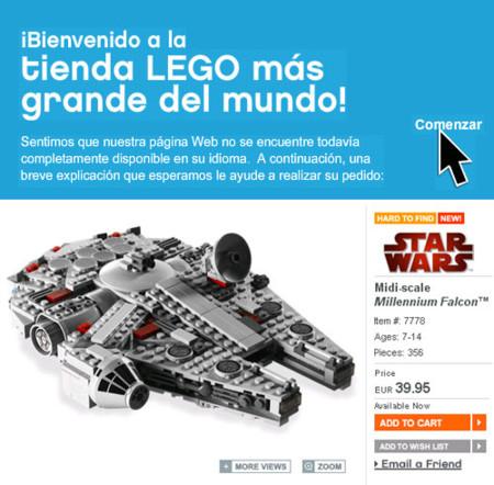 Nueva tienda online de LEGO