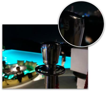 Samsung Galaxy A80 Retrato Detalle
