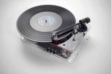 Earbox Transparent Turntable Mkii
