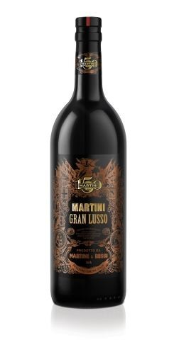 Botella de Martini Gran Lusso, edición limitada