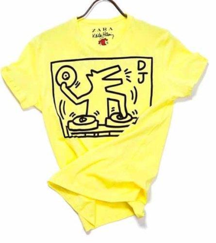 Zara vuelve a confiar en Keith Haring para sus nuevas camisetas Primavera-Verano 2010