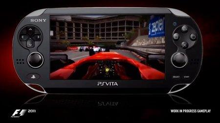 'F1 2011' será un título de lanzamiento de PS Vita en Europa