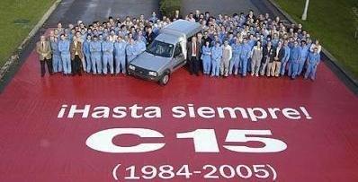 Adiós al Citroën C15