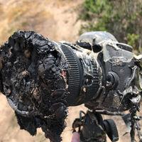 Una cámara derretida por un cohete, una lightbox casera y más: Galaxia Xataka Foto
