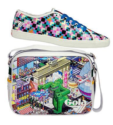 Zapatillas, bolsos y camisetas Gola con el sello de eBoy