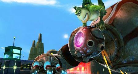 'Monsters vs. Aliens', el videojuego sobre la próxima película de DreamWorks