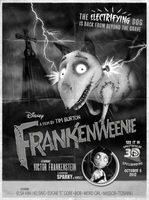 'Frankenweenie', sensacional tráiler y nuevo cartel de la película de Tim Burton