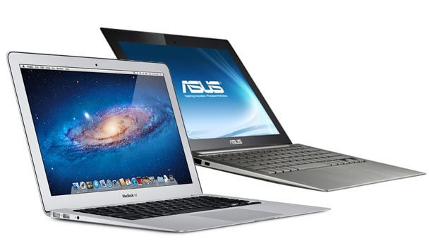 Ultrabooks una copia de los MacBook Air