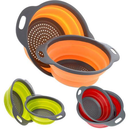 Set de cesta/colador flexible por sólo 6,03 euros en eBay y envío gratis. ¡En varios colores!