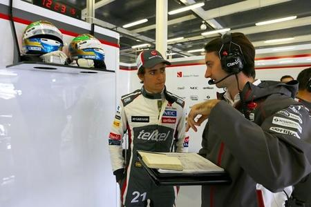 Esteban Gutiérrez admite que la situación en Sauber es complicada
