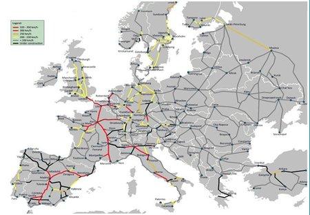 Un puente que permitirá unir Europa en trenes de alta velocidad