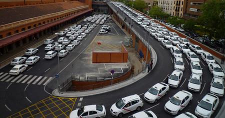 Taxis en Atocha