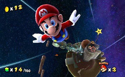 Super Mario Galaxy vende en Japón 250.000 unidades en una semana