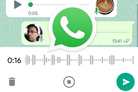 WhatsApp renueva su grabadora de voz en su beta: puedes escuchar tu mensaje antes de enviarlo