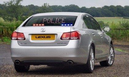 Lexus Híbrido Policía GS 450h