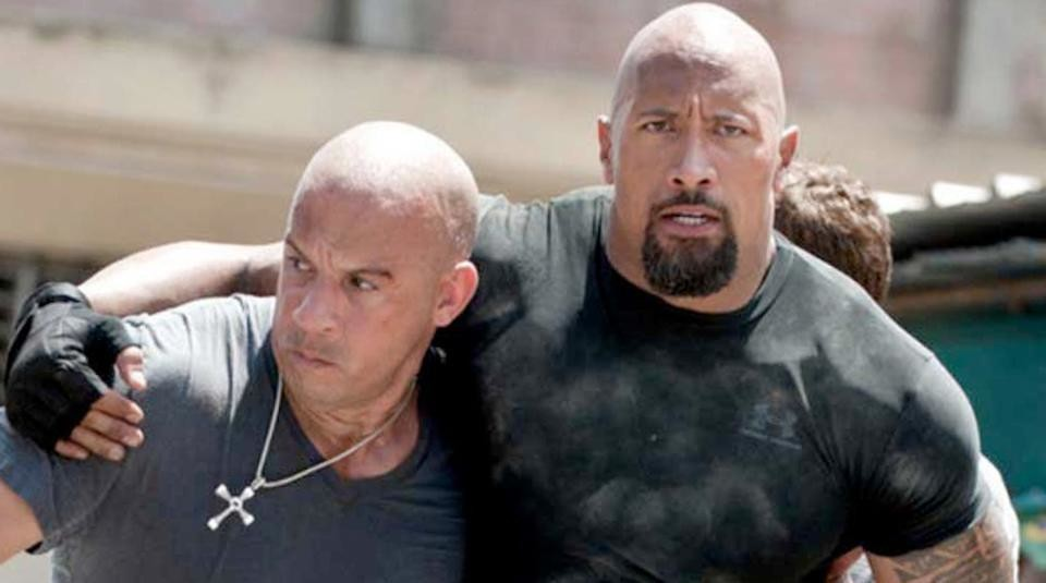 Dwayne Johnson and Vin Diesel make peace after the success of the spin-off of