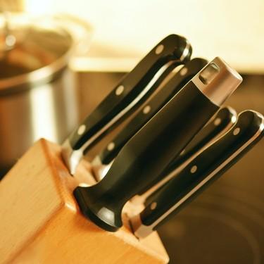 Así puedes evitar que el bloque de cuchillos sea el lugar más sucio en tu cocina