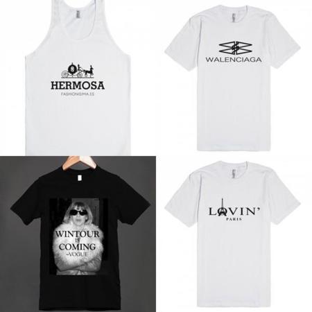 Camisetas Fashionisima