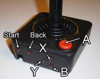 Un joystick de Atari 2600 convertido en mando de Xbox 360. ¿Adivinas quién ha sido?