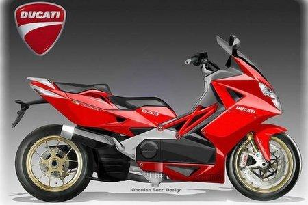 Vuelven los rumores sobre un scooter de Ducati
