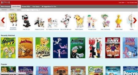 Netflix se adapta a los más pequeños