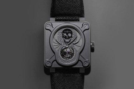 Un reloj con forma de calavera por Bell & Ross