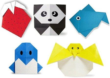 Figuras de origami para hacer con los niños