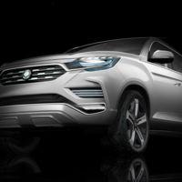 SsangYong LIV-2 Concept, el adelanto del próximo Rexton va camino de París