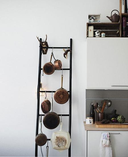 Armarios con o sin puertas en la cocina