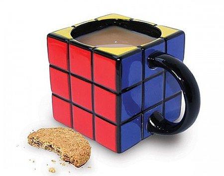 Desayunando con el cubo de Rubik